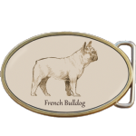 French Bulldog Belt Buckle. Code A0063
